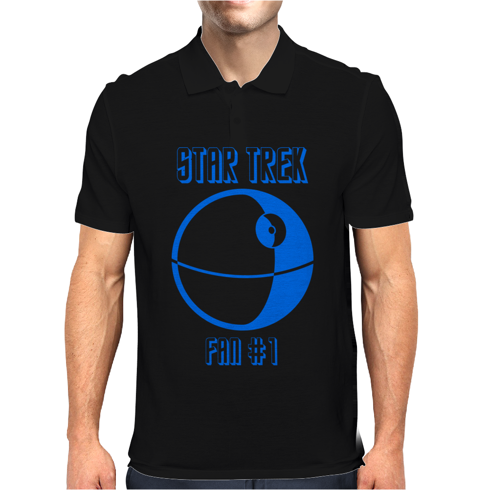 Star Trek #1 Fan Mens Polo