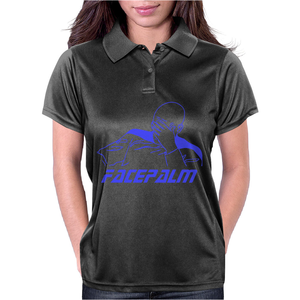 Star Trek Facepalm Womens Polo