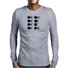Star Trek: Starship silhouettes vintage Mens Long Sleeve T-Shirt