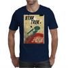 Star Trek  Vintage Movie Poster Mens T-Shirt