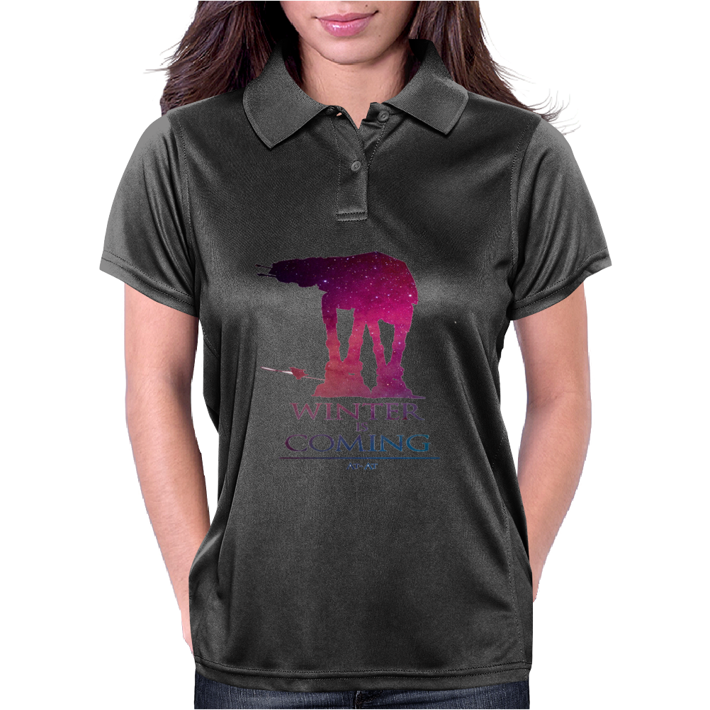 Star Wars At-At Womens Polo