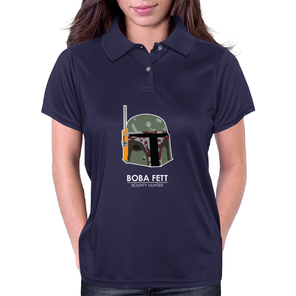 Star Wars Boba Fett Womens Polo