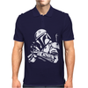 Star Wars Bobba Fett Inspired TEE Mens Polo