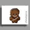Star Wars Chewbacca Poster Print (Landscape)