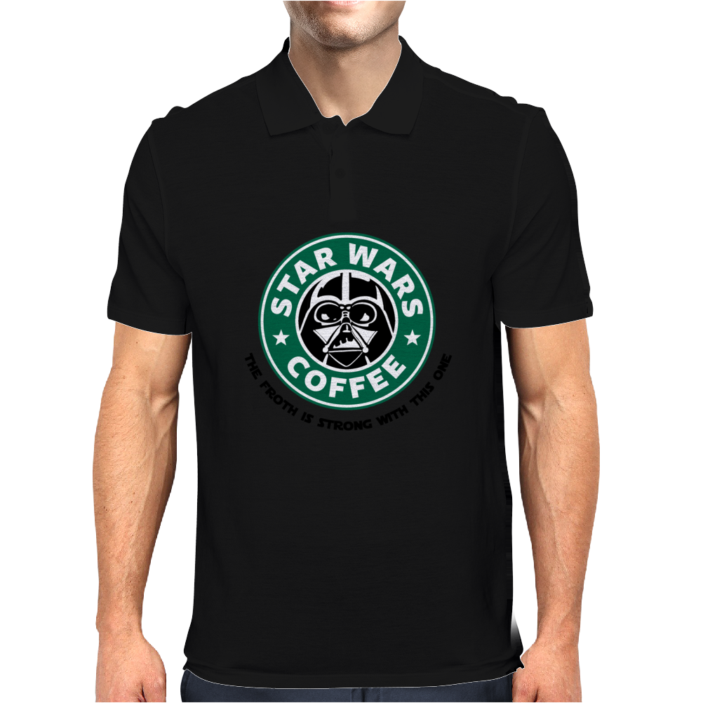 Star Wars Coffee Mens Polo