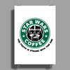 Star Wars Coffee Poster Print (Portrait)