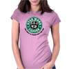 Star Wars Coffee Womens Fitted T-Shirt