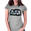STAR WARS D0G LOVERS Womens Fitted T-Shirt