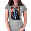 Star Wars Episode Seven Force Awakens Womens Fitted T-Shirt