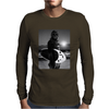 Star Wars Funny Chewbacca Surfing Mens Long Sleeve T-Shirt