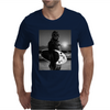 Star Wars Funny Chewbacca Surfing Mens T-Shirt