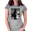 Star Wars Funny Chewbacca Surfing Womens Fitted T-Shirt