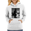 Star Wars Funny Chewbacca Surfing Womens Hoodie
