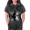 Star Wars Funny Chewbacca Surfing Womens Polo
