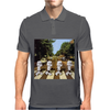 Star Wars Funny Stormtrooper Abbey Road Mens Polo