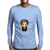 Star Wars Han Solo pixel art by Birta Mens Long Sleeve T-Shirt