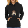 Star Wars Han Solo pixel art by Birta Womens Hoodie