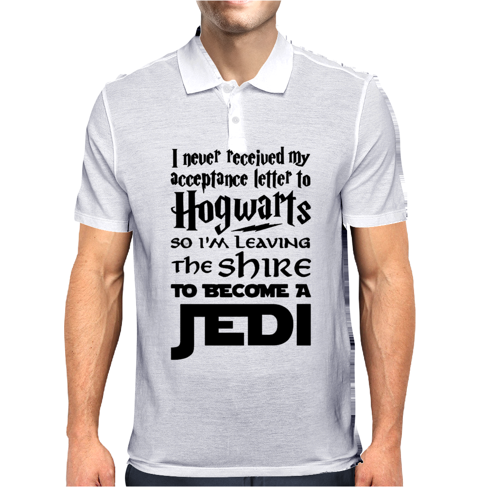 Star Wars Harry Potter Lord of the Rings Jedi Mens Polo