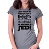 Star Wars Harry Potter Lord of the Rings Jedi Womens Fitted T-Shirt