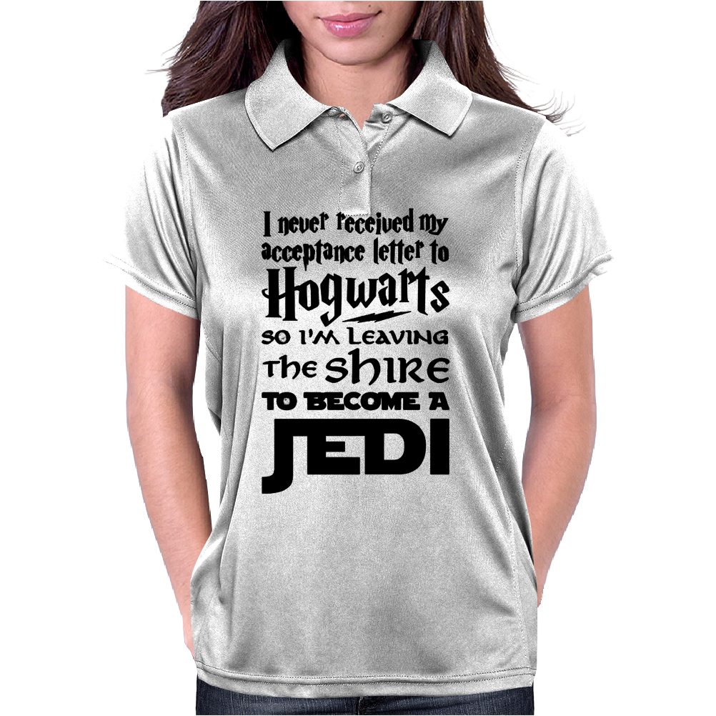 Star Wars Harry Potter Lord of the Rings Jedi Womens Polo