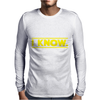 Star Wars - I Know Mens Long Sleeve T-Shirt