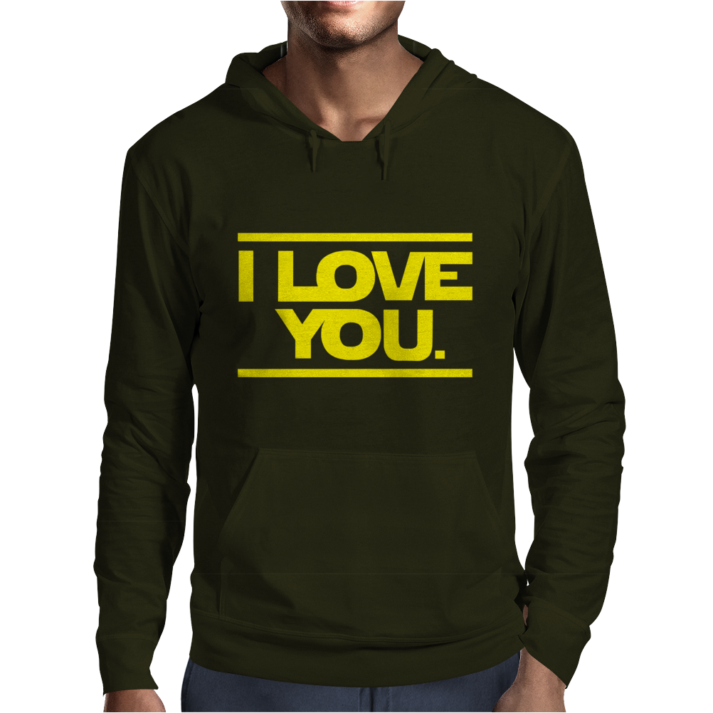 Star Wars - I Love You Mens Hoodie