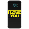 Star Wars - I Love You Phone Case