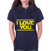 Star Wars - I Love You Womens Polo