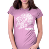 Star Wars Inspired Millenium Falcon Womens Fitted T-Shirt