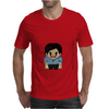 Star Wars Lando Calrissian pixel art by Birta Mens T-Shirt