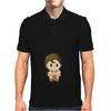 Star Wars Leia Organa pixel art by Birta Mens Polo