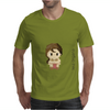 Star Wars Leia Organa pixel art by Birta Mens T-Shirt