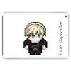 Star Wars Luke Skywalker pixel art by Birta Tablet