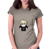 Star Wars Luke Skywalker pixel art by Birta Womens Fitted T-Shirt