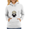 Star Wars Luke Skywalker pixel art by Birta Womens Hoodie