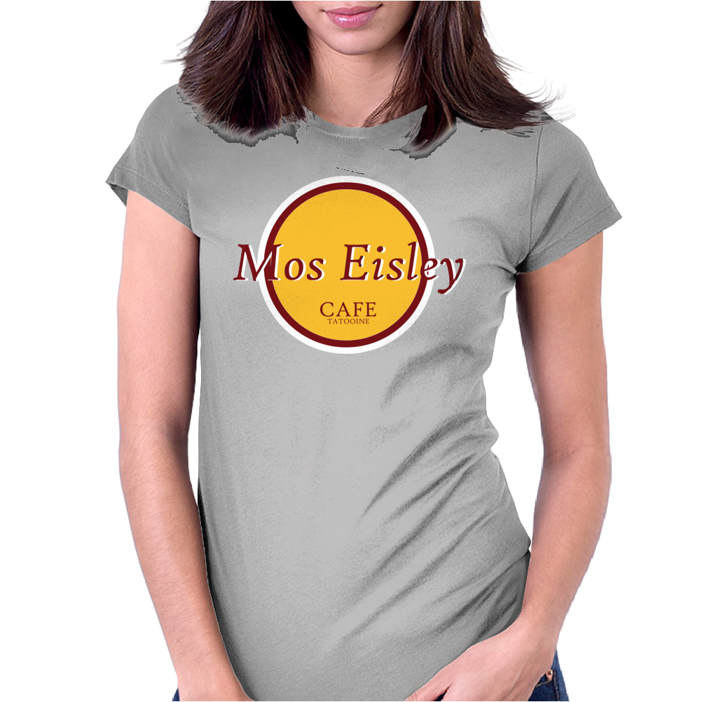 Star Wars Mos Eisley Cafe Womens Fitted T-Shirt