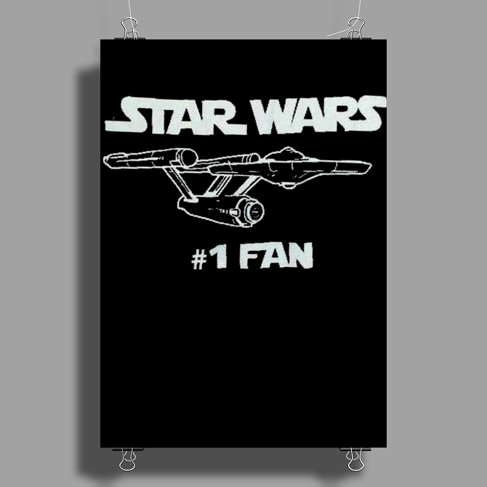 Star Wars No.1 Fan Poster Print (Portrait)