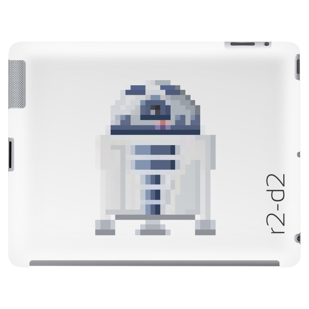 Star Wars R2-D2 pixel art by Birta Tablet