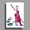 Star Wars Rey and BB8 Poster Print (Portrait)
