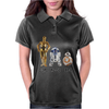 star wars robot Womens Polo
