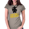 Star Wars Shut up Womens Fitted T-Shirt