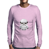 Star Wars Stormtrooper pixel art by Birta Mens Long Sleeve T-Shirt