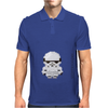 Star Wars Stormtrooper pixel art by Birta Mens Polo
