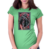 Star wars take a walk on a dark side Womens Fitted T-Shirt