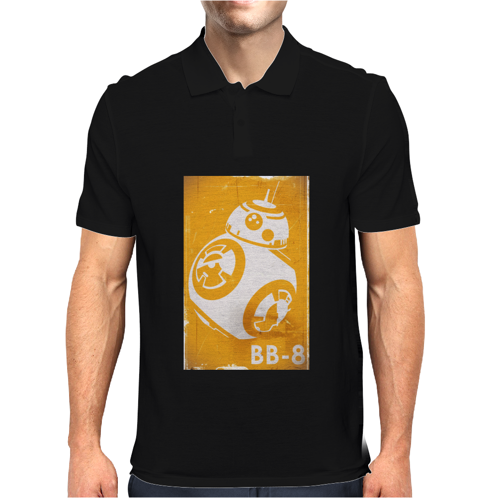 Star Wars The Force Awakens BB-8 Mens Polo