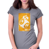Star Wars The Force Awakens BB-8 Womens Fitted T-Shirt