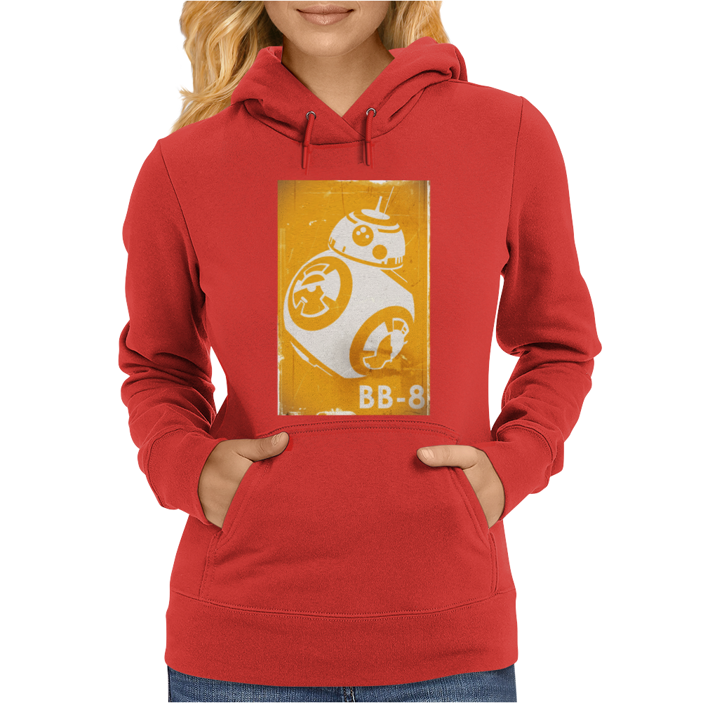 Star Wars The Force Awakens BB-8 Womens Hoodie