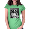 Star Wars Yoda Cinema Funny Womens Fitted T-Shirt