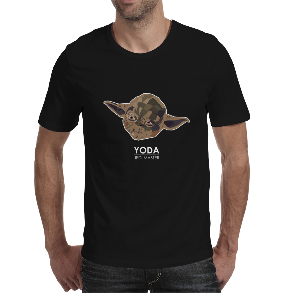 Star Wars Yoda Mens T-Shirt