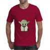 Star Wars Yoda pixel art by Birta Mens T-Shirt